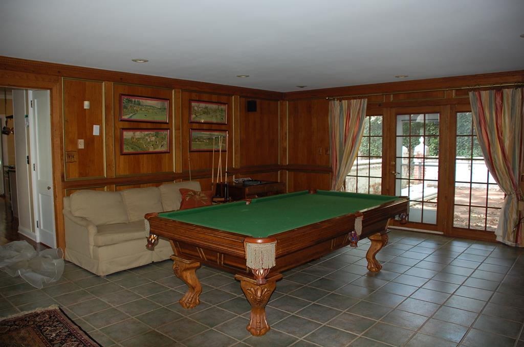 Game Room with Access to Patio